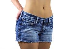 La cintura de la mujer Imagen de archivo