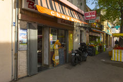 La Ciotat de Boucherie Chevaline Imagens de Stock