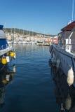 La Ciotat harbour Stock Photo