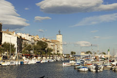La Ciotat Haven Royalty Free Stock Photography