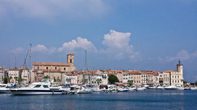 La Ciotat's Harbor Stock Photo