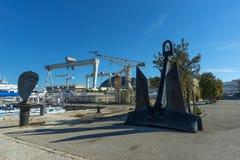 La Ciotat shipyard Royalty Free Stock Photos