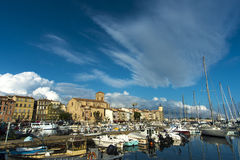 La Ciotat Storm clouds Royalty Free Stock Images