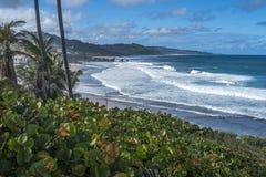 La ciotola di minestra, Bathsheba, Barbados immagini stock