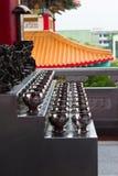 La ciotola ha trasportato da un sacerdote buddista Immagini Stock Libere da Diritti