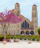La Cipro nella sorgente fotografia stock