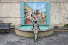 La Circa Bronze Statue, New Orleans Stock Photography