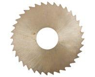 La circulaire scie la lame pour le bois Photographie stock