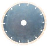 La circulaire scie la lame sur d'isolement Images stock
