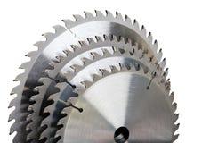 La circular todavía vio vida industrial de la construcción de blades.tool Foto de archivo libre de regalías