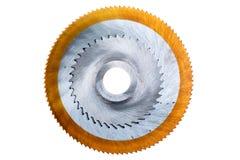 La circular vio las láminas. imagen de archivo