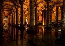 La cisterna de la basílica Fotografía de archivo