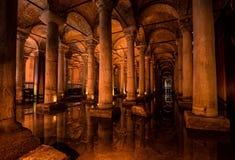 La cisterna de la basílica Fotos de archivo libres de regalías