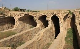 La cisterna del agua en Mardin. imagen de archivo