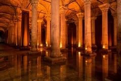 La cisterna della basilica Immagine Stock