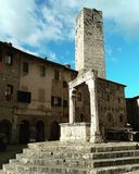 La Cisterna. Great ancient town Royalty Free Stock Images