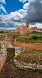 La Citadella in Victoria, Gozo, Malta. Fortifications in La Citadella, Victoria, Gozo, Malta Stock Photos