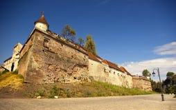 La citadelle de Brasov, Roumanie Image libre de droits
