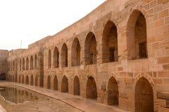 La citadelle de Qaitbay Photos libres de droits