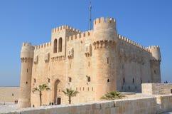 La citadelle de Qaitbay Photo libre de droits