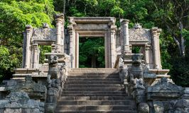 La citadelle de Yapahuwa, Sri Lanka images stock