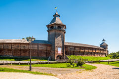 La citadelle et le x28 ; Fortress& x29 ; de Baturyn Ukraine Images stock