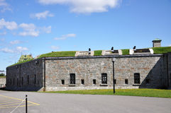 La Citadelle of Quebec, Quebec City, Canada Royalty Free Stock Photos