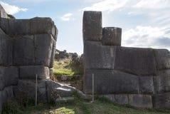 La citadelle Sacsayhuaman d'Inca aux périphéries de Cusco photographie stock