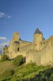 La citazione di Carcassonne Immagini Stock Libere da Diritti