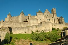La Cite - Carcassonne Royalty Free Stock Photo