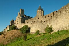 La Cite - Carcassonne Stock Photo