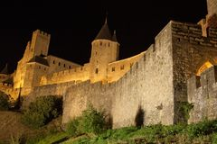 La Cite - Carcassonne Royalty Free Stock Images