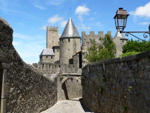 La Cite' Medievale de Carcassonne Royalty Free Stock Images