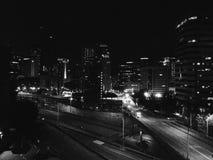La città fotografie stock