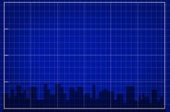 La città illustrazione di stock