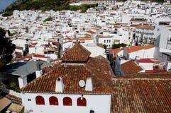 La città adorabile di Mijas su Costa Del Sol Andalucia, Spagna Fotografie Stock Libere da Diritti