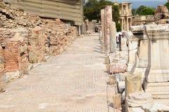 la città antica del ephesus immagini stock libere da diritti