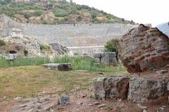 la città antica del ephesus fotografia stock libera da diritti