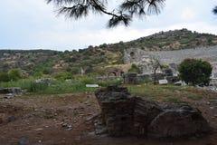 la città antica del ephesus immagine stock