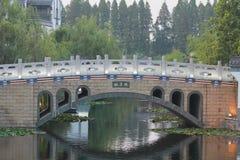 La città antica dell'acqua Immagine Stock