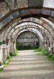 La città antica dell'agora di Smyrna. Fotografie Stock Libere da Diritti