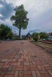 La città antica di Chiang Mai, stupa della conduttura della Tailandia Wat Chedi Luang Wat Chedi Luang Immagini Stock Libere da Diritti