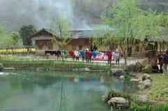 La città antica di FengHhuang Immagini Stock Libere da Diritti