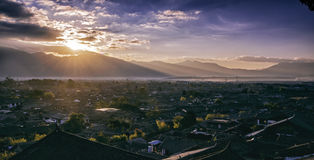 La città antica di Lijiang Immagini Stock Libere da Diritti