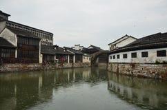 La città antica di Nanxun fotografie stock