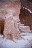 La città antica di PETRA, Giordano. Immagini Stock