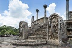 La città antica di Polonnaruwa Immagini Stock