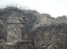 La città antica di Pompei in Italia fotografia stock libera da diritti