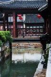 La città antica di Suzhou Immagini Stock