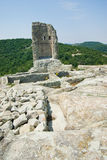 La città antica di Thracian di Perperikon Fotografie Stock